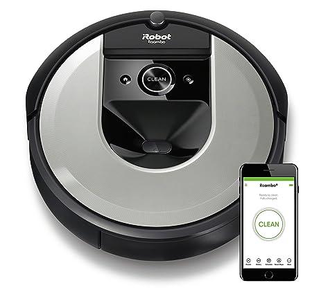 iRobot Roomba i7156 Aspiradora, Plateado Claro