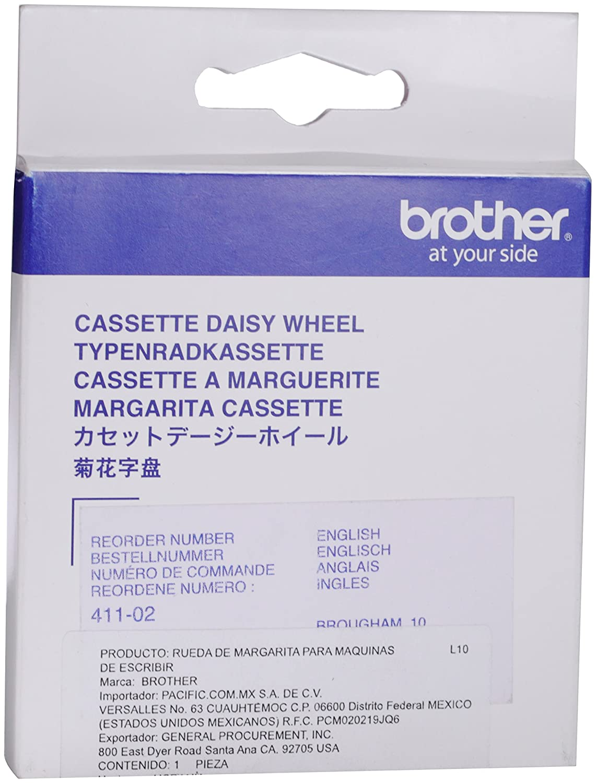 Brother Brougham cinta para impresora - Cinta de impresoras matriciales (AX10 -AX12 -AX12M -AX15 -AX15M -AX20 -AX22 -AX24 -AX25 -AX250 -AX26 -AX28 -AX300 ...