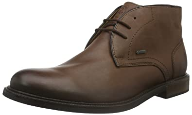 Fretz Men Andrew - Zapatos con Cordones de Cuero Hombre, Color Negro, Talla 40 2/3