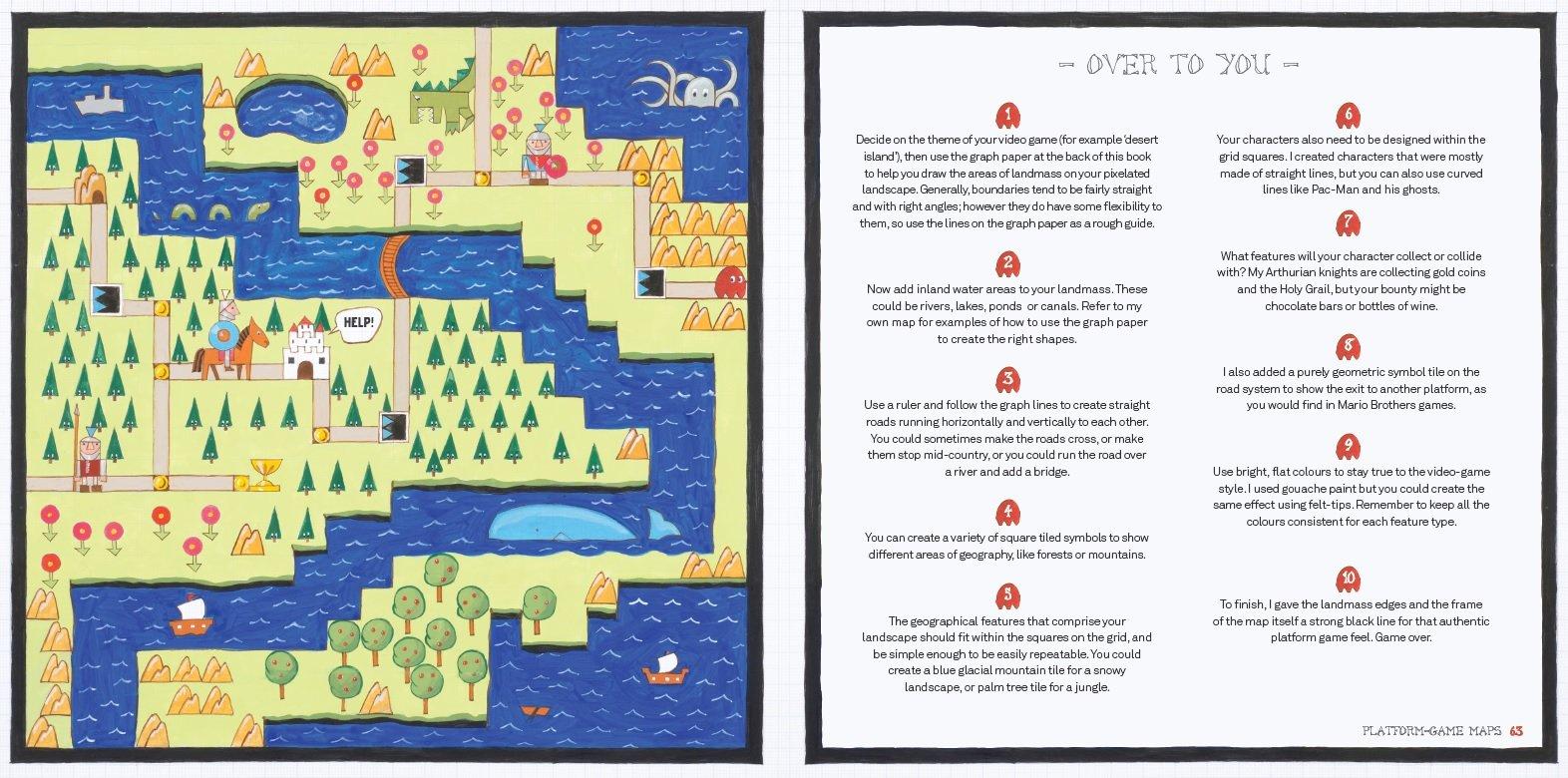 Hand-Drawn Maps: A Creator's Guide: Amazon.de: Helen Cann ... on