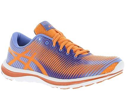 Asics Gel Super J33 femme corailbleu Chaussures Running