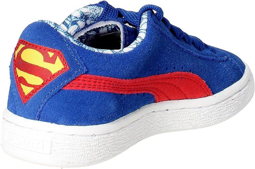 Puma 362122 04 Sneakers Boy Wildleder Blau Blau 29: Amazon