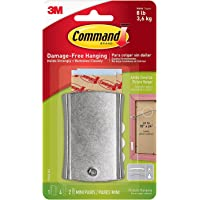 Command Universal Picture Hanger Heavy Duty w/ Stabilizer Strips, Jumbo, Holds 8 lbs, 1-Hanger (17048-ES)