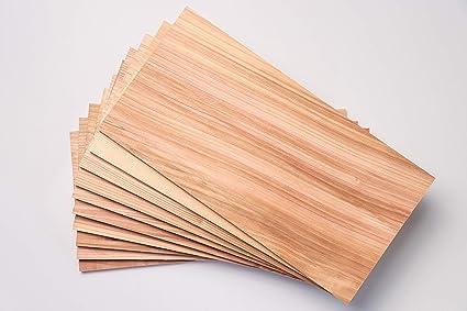 Amazon.com: Planchas de asar de cedro premium – 10 unidades ...