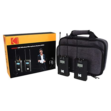 KODAK UHF Wireless Microphone System WM2