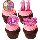 12 Edible Cup Cake Toppers Mother/'s Day Birthday Keep Calm I Love You Mom Mix