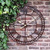 Reloj de pared Westminster gigante, con números romanos