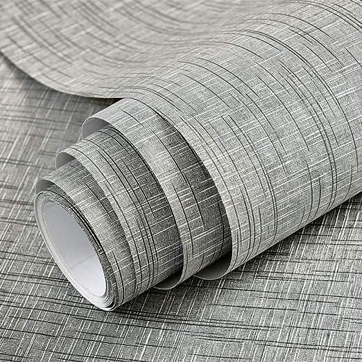 Papel tapiz impermeable papel pintado gris empate mesa escritorio ...