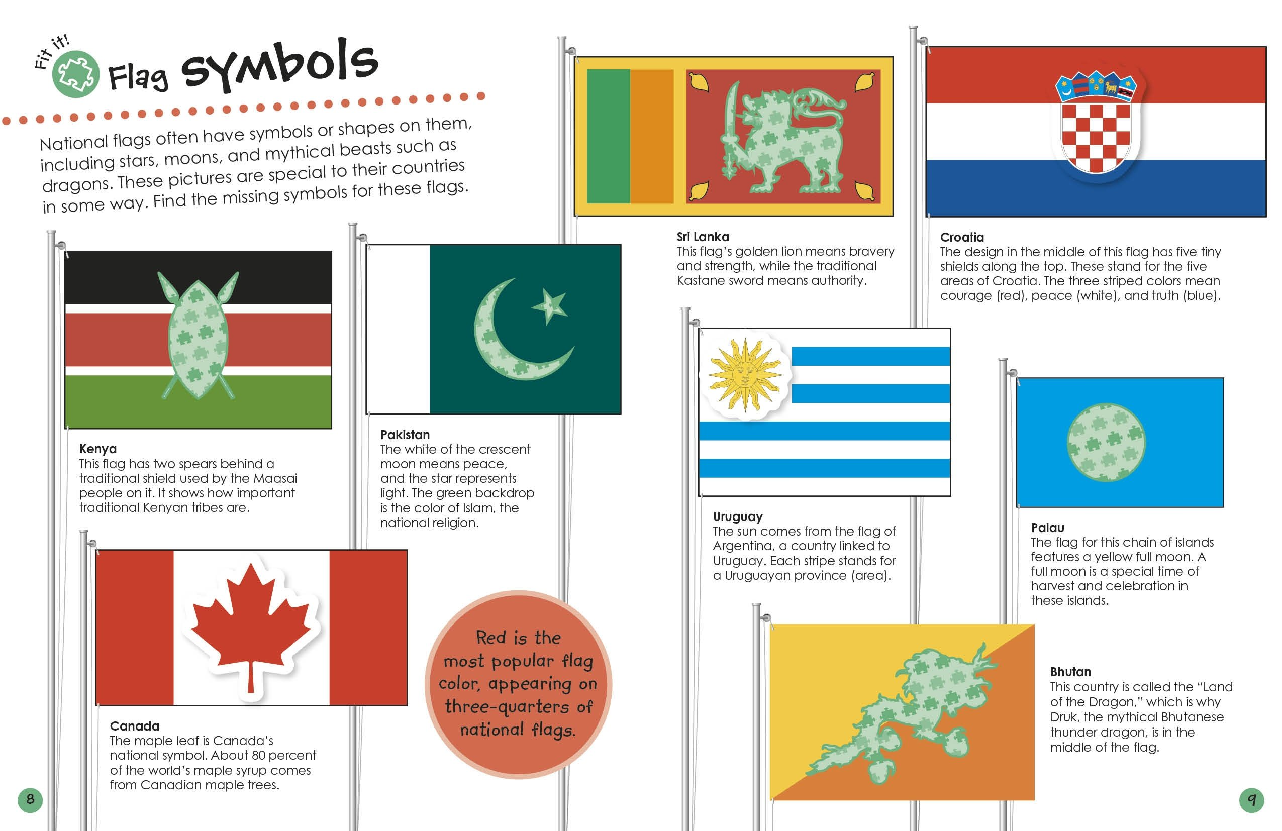 Ultimate Sticker Book Flags Around The World Ultimate Sticker