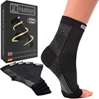 Fit Nation Plantar Fasciitis Socks (2 Pairs of Compression Socks Per Pack) Ultimate Support Sleeves For Your Aching Heels, For Runners - Get That Spring Back In Your Step. #PlantarFasciitisSock