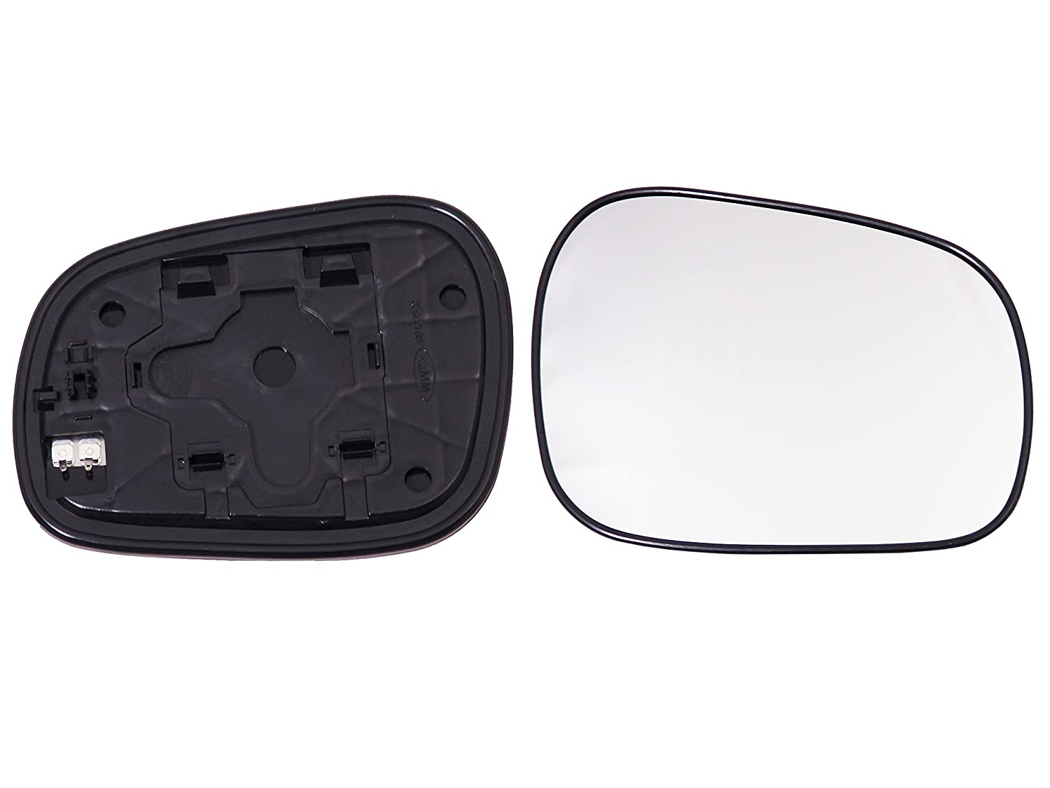 Alkar 6432992 Outside Heated Convex Mirror Glass with Holder