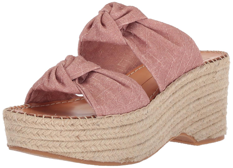 Dolce Vita Women's Lera Espadrille Wedge Sandal B077QT1TY4 6.5 B(M) US|Blush Linen