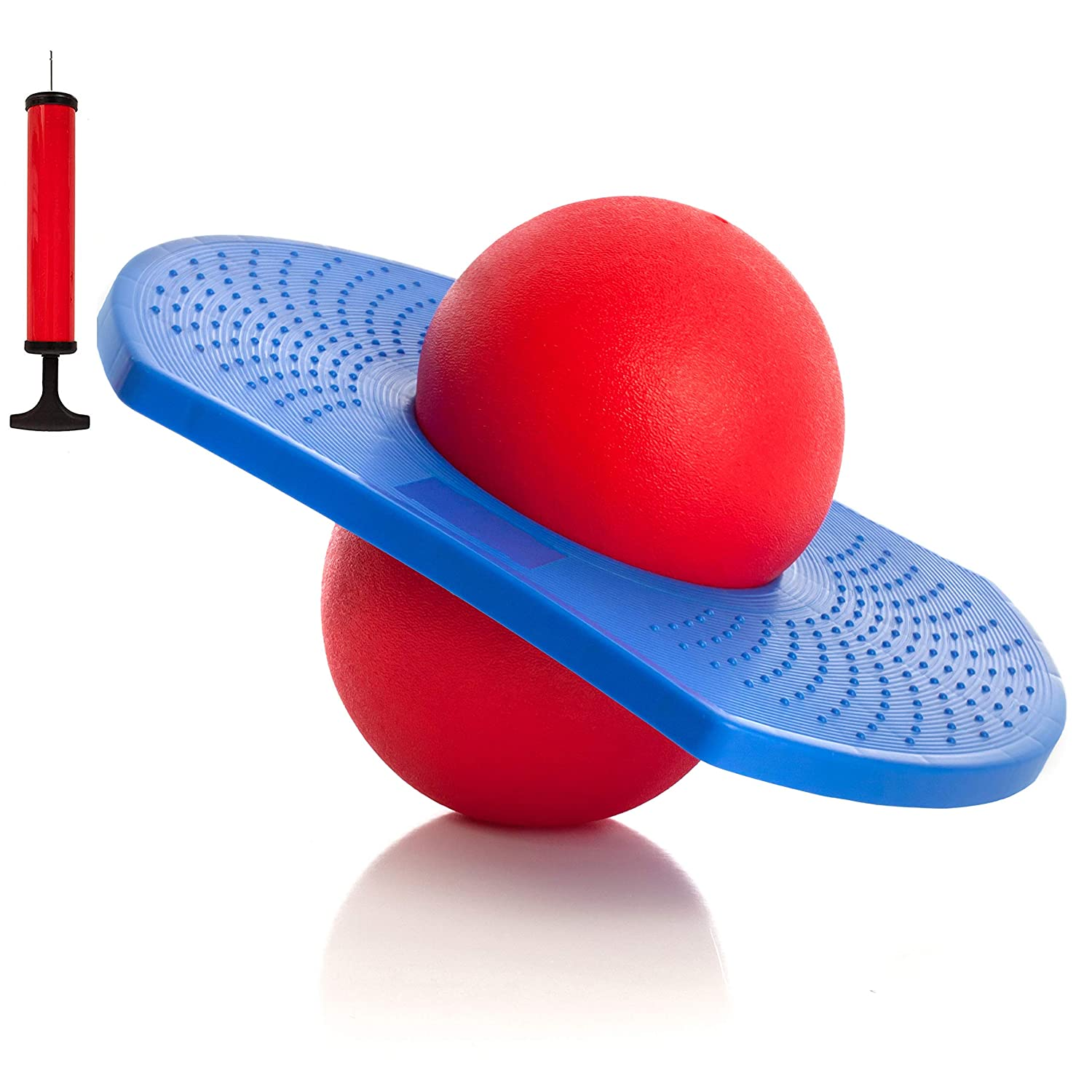 High Bounce Balance Jump Board Ball