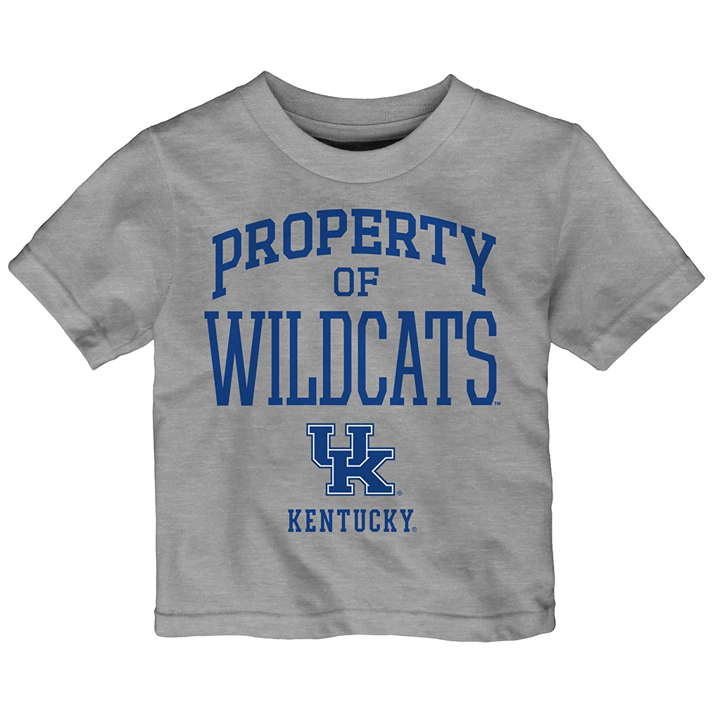 Heather Grey Outerstuff NCAA Kentucky Wildcats Toddler Team Property Short Sleeve Tee 3T
