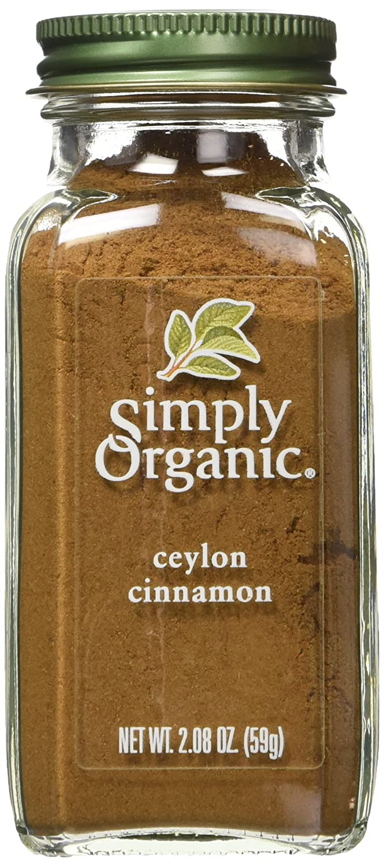 Simply Organic Ground Cinnamon, 2.08 Ounce