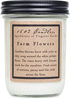 product image for 1803 Candles - 14 oz. Jar Soy Candles - (Farm Flowers)