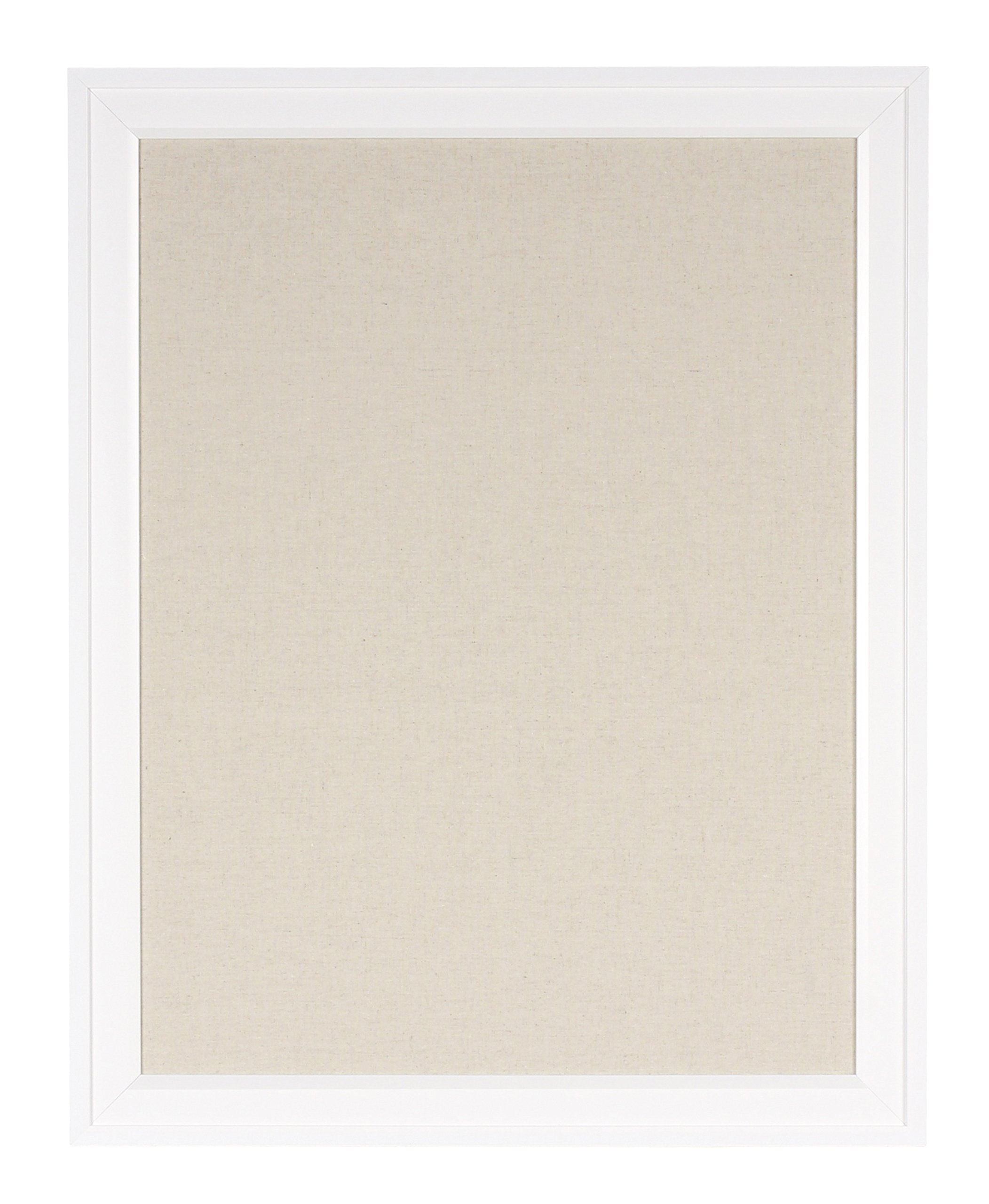 DesignOvation Bosc Pinboard, 23.5x29.5, White