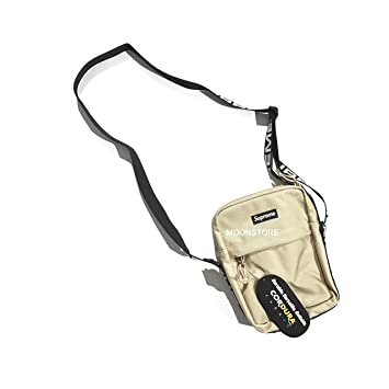 40c89158876e Hypefits Streetwear Dope Shoulder Bag Alphabet Embroidery Straps Limited  Edition Khaki