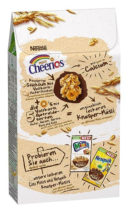 Nestlé Cerealien Multi Cheerios Knusper-Müsli, mit Vollkorn ...