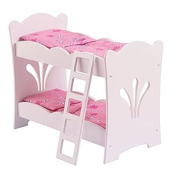 Amazon Com Kidkraft 60130 Lil Doll Bunk Bed 20 75 L X 11 57 W X