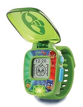 VTech PJ Masks - Gekko Learning Watch Niño/niña - Juegos educativos (Verde,