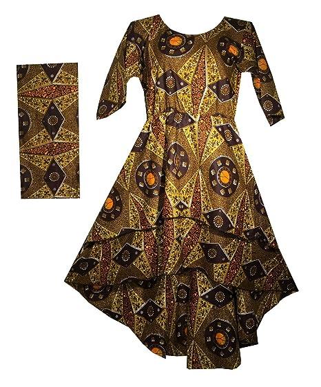 bfe054b3d20 Decoraapparel Women s Stylish Cotton Wax Long Dress