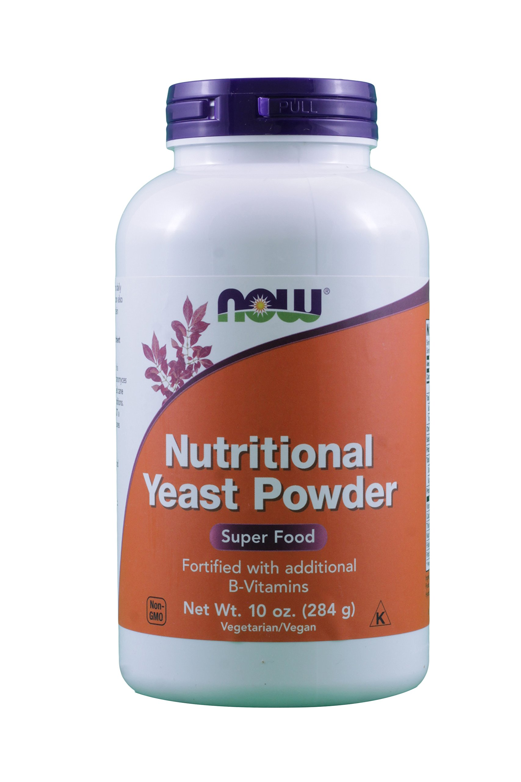 Now Foods Nutritional Yeast Powder, 20-Ounce (2 pack of 10 oz bottle)