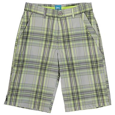Modestile bis zu 80% sparen schnelle Farbe Slazenger Kinder Jungen Karo Golf Shorts Kariert Kurze Hose ...