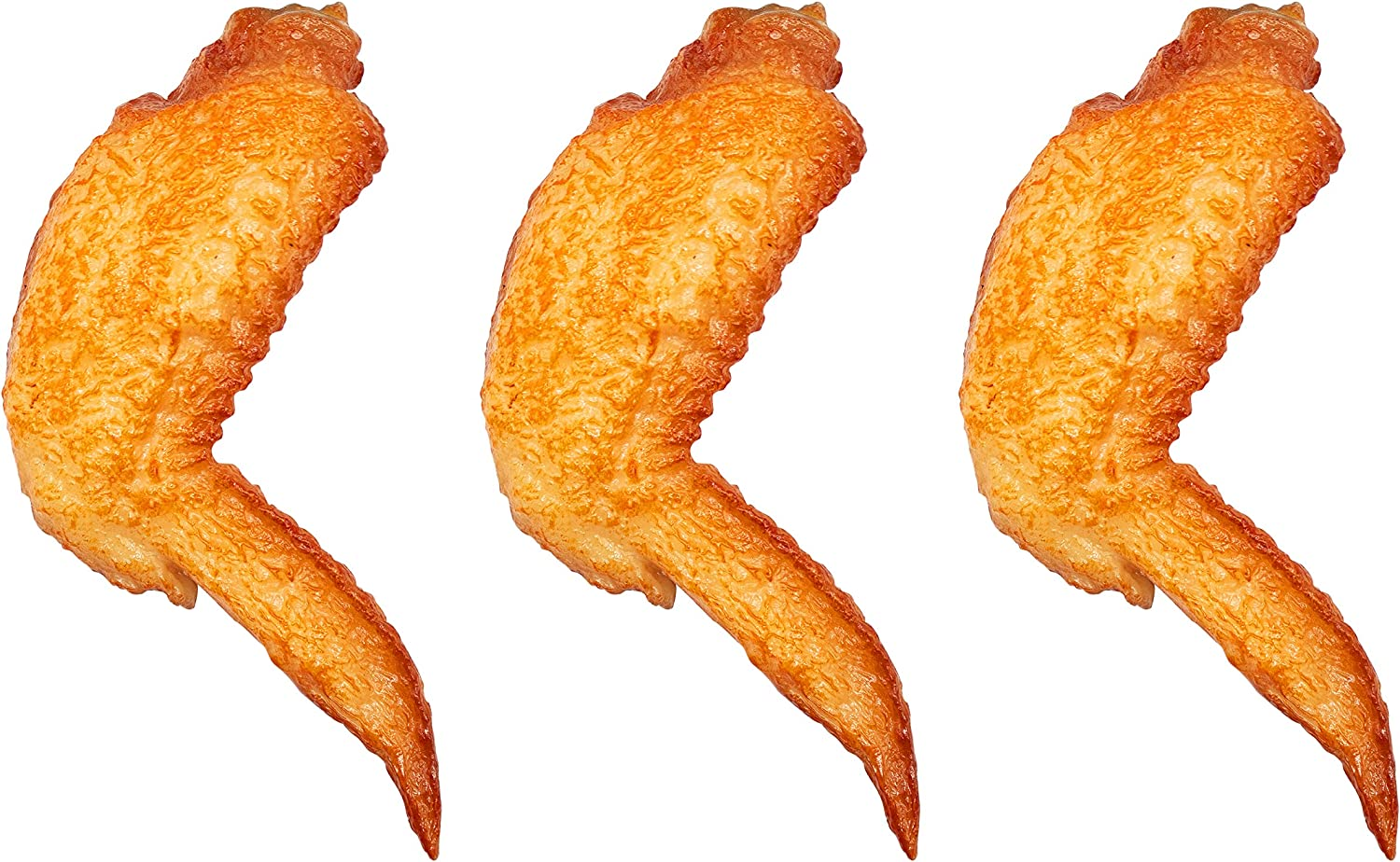 Simulated Chicken Wings Fake Food Model for Kitchen Home Party Decoration Food Sample Display Prop