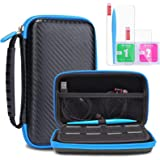 Protective Carrying Case for New Nintendo 2DS XL LL KINGTOP Hard Shell Travel Bag for New Nintendo 2DS XL/LL New…