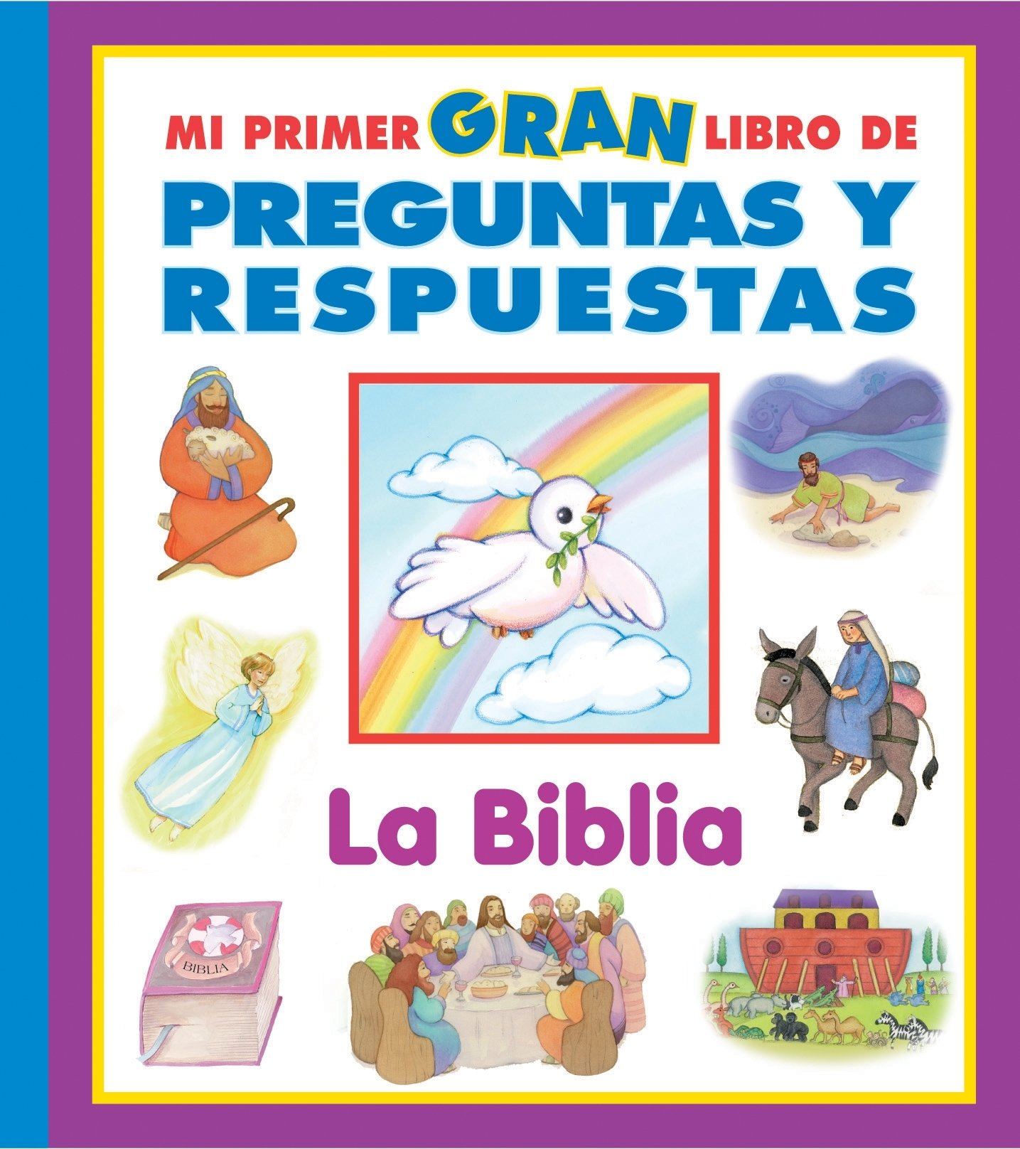 Amazon Com Mi Primer Gran Libro De Preguntas Y Respuestas La Biblia 9781412735896 Editors Of Publications International Ltd Books