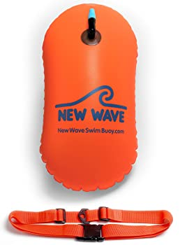 New Wave Bubble Safety Float Swim Buoy