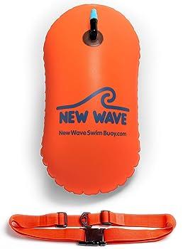 New Wave Bubble Safety Float Swim Buoy