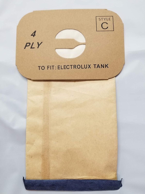 Amazon.com: 25 Bolsas de aspiradora Electrolux Canister C ...