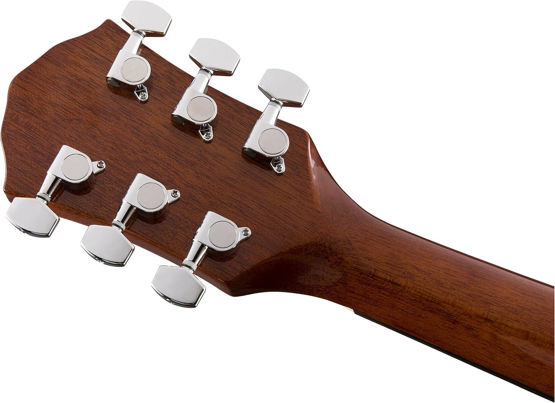 Fender FA-125CE Dreadnought Natural Acústica: Amazon.es ...