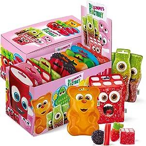 Gommy´s Factory, Golosina (Happy box) - 10 de 90 gr. (Total 900 gr.): Amazon.es: Alimentación y bebidas