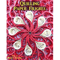 Quilling Paper Filigree Vol. 3 Project Tracker: 8.5x11 100-Page Guided Prompt Log Book for Projects