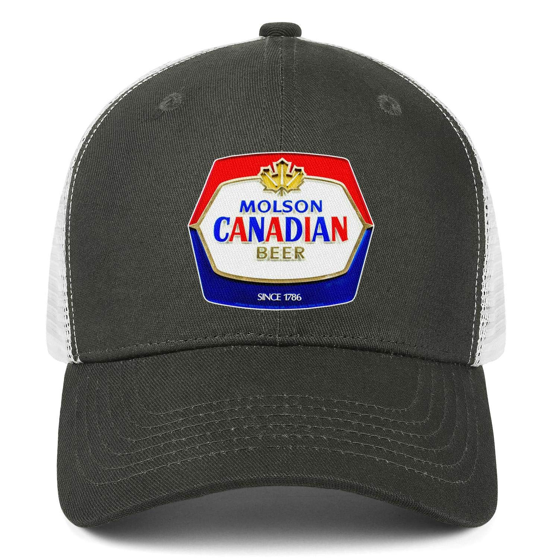 chenhou Unisex Molson Since 1786 Hat Adjustable Fitted Dad Baseball Cap Trucker Hat Cowboy Hat