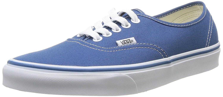 Vans Unisex Authentic Canvas Shoes B0771V17GC 7.5 D(M) US|Navy