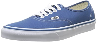 Unisex Authentic Navy Canvas VN000EE3NVY Mens 8 Womens 9.5