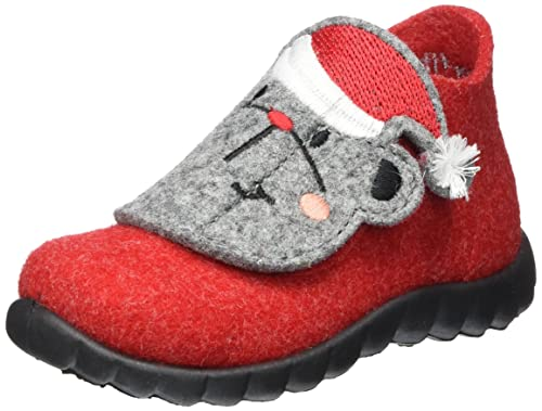 Zapatos rojos Superfit Happy infantiles OycGLByx