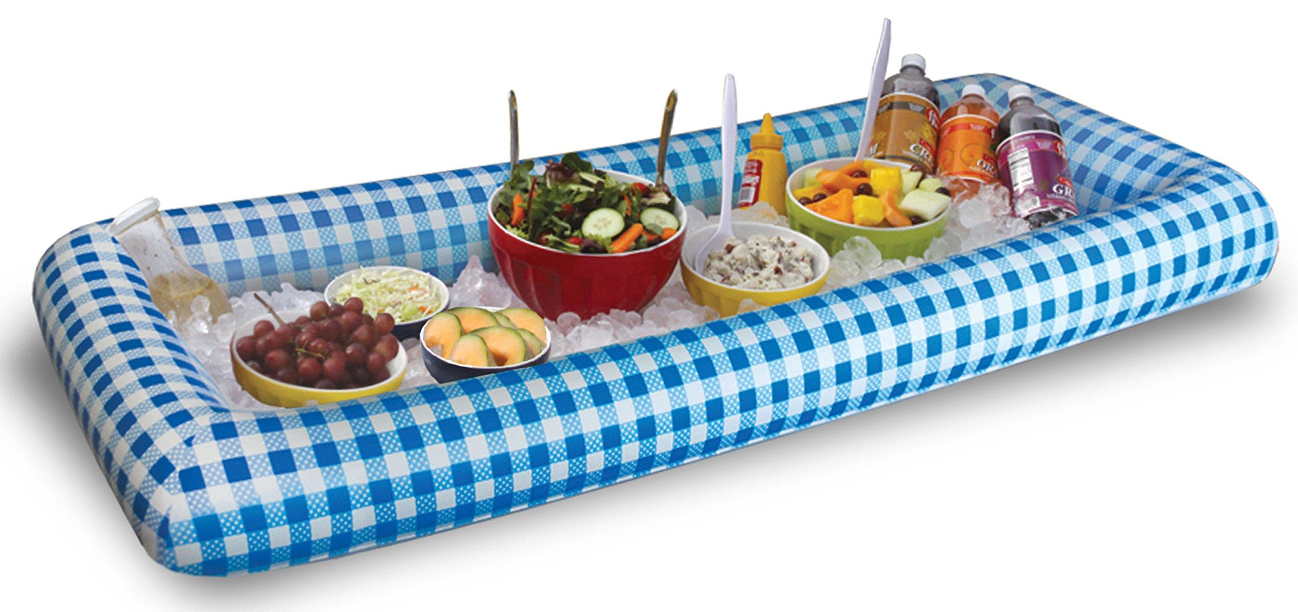 BW Brands Inflatabuffet, Blue Picnic
