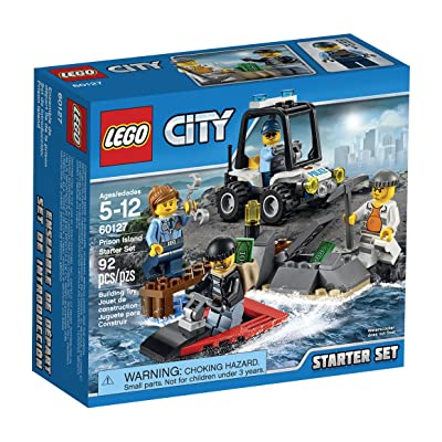 LEGO CITY Prison Island Starter Set 60127: Toys & Games