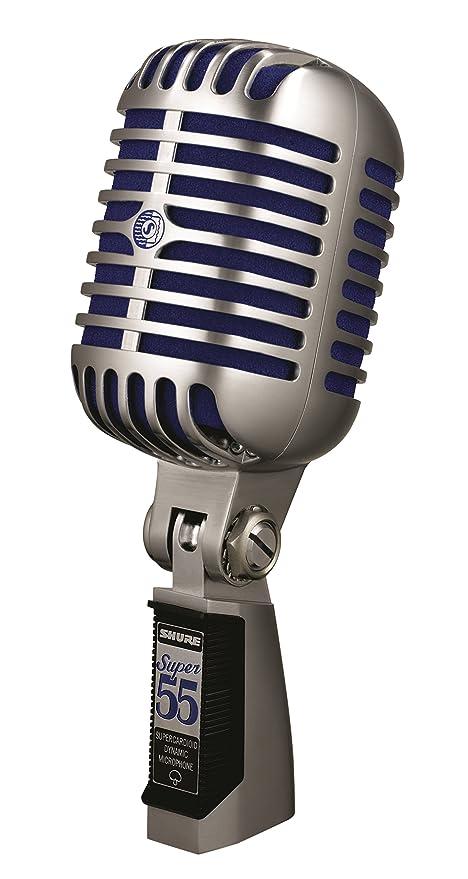 Shure SUPER 55 - Microfono Professionale Supercardioide Vintage per Voce c3c70a27d7fa