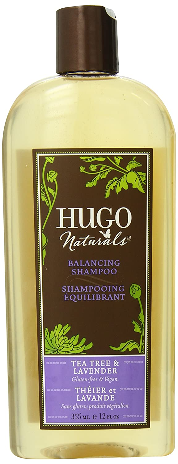 Hugo Naturals Shampoo, Tea Tree & Lavender, 12 Ounce Bottle DM Natural Products Inc Hug-5687