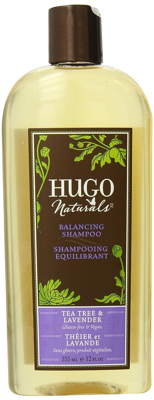 Hugo Naturals Shampoo, Tea Tree & Lavender, 12 Ounce Bottle DM Natural Products Inc Hug-5687