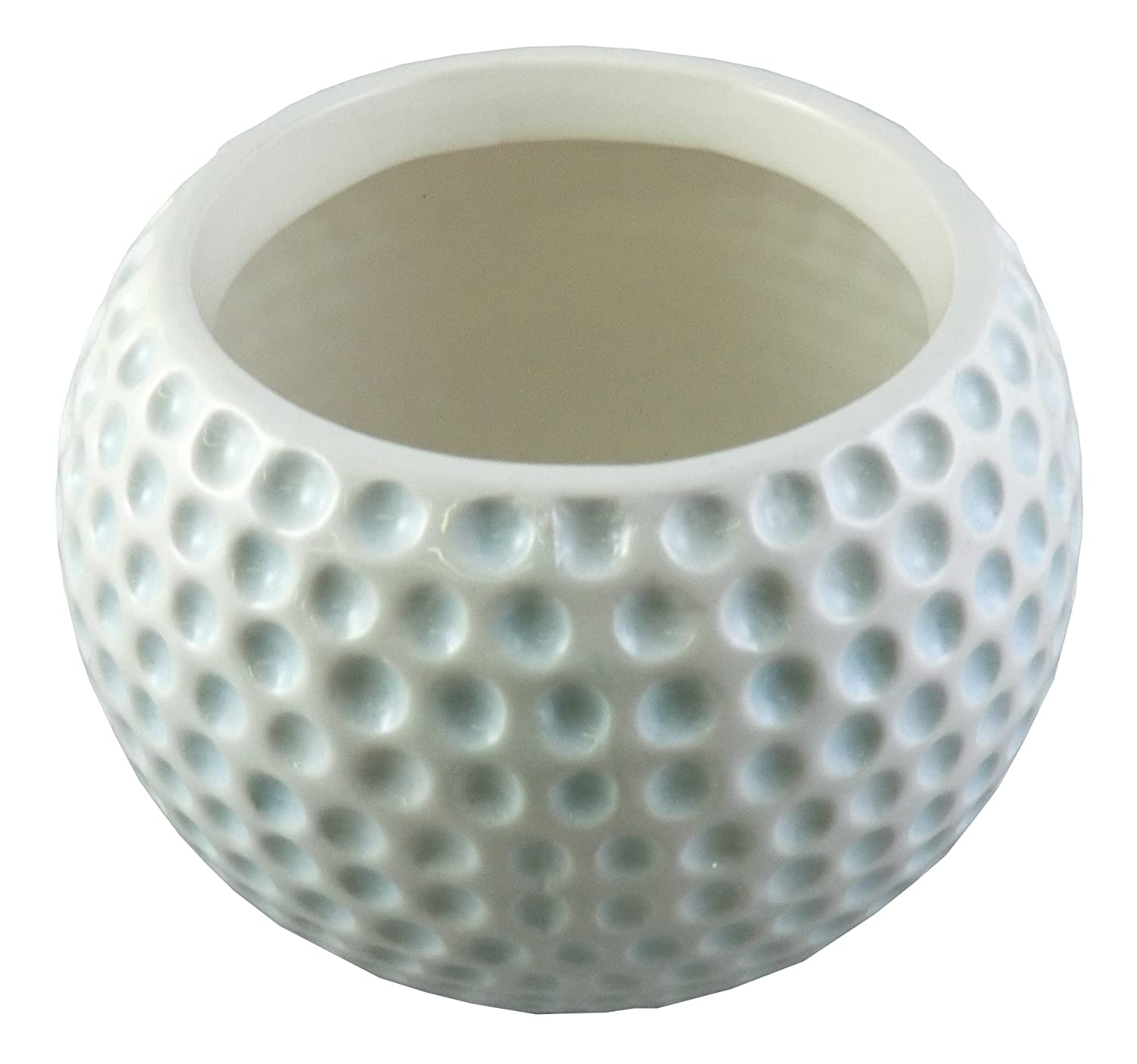 Amazon accents occasions ceramic golf ball planter or amazon accents occasions ceramic golf ball planter or flower arrangement vase 3 34 inch home kitchen reviewsmspy