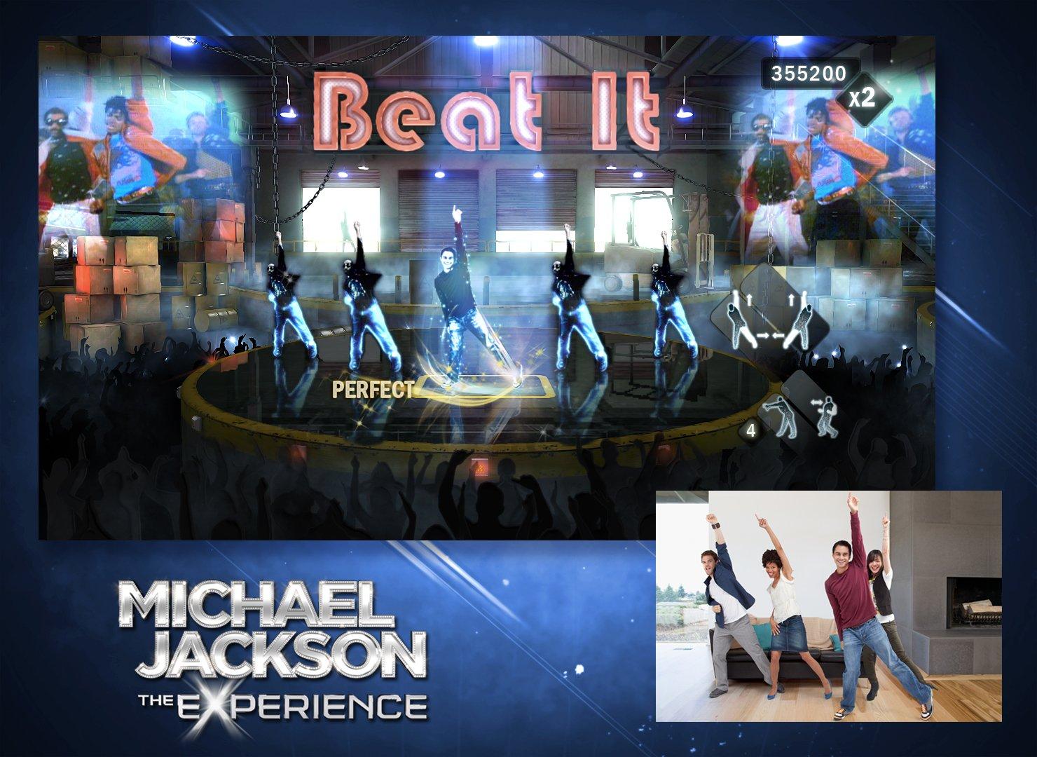 michael jackson the experience xbox 360 standard edition xbox