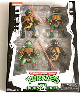 Teenage Mutant Ninja Turtles Classic 1988 Original Series 4 Pack