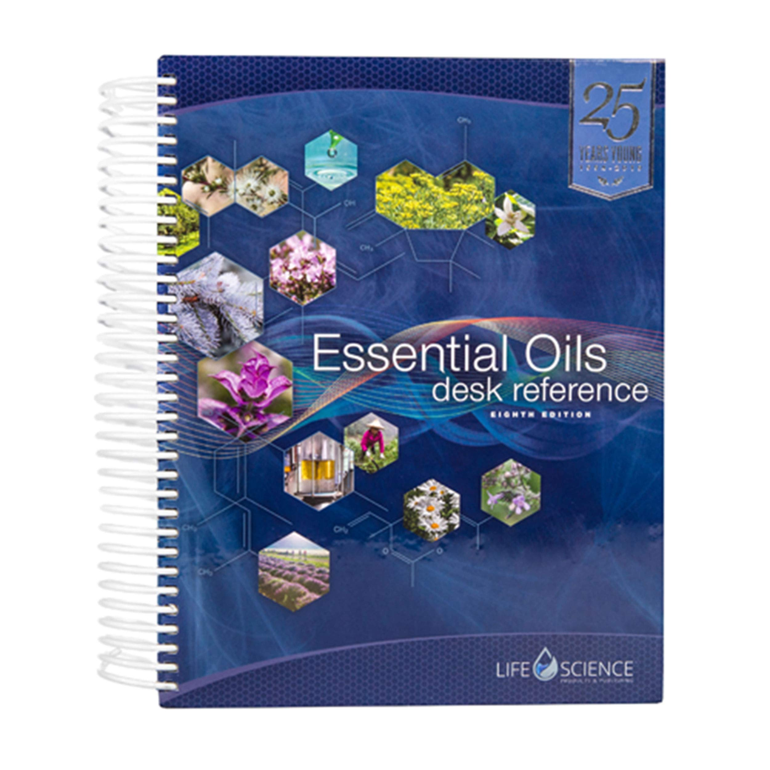 Essential Oils Desk Reference 8th Edition FULL-COLOR (2019) by Life Science Publishing